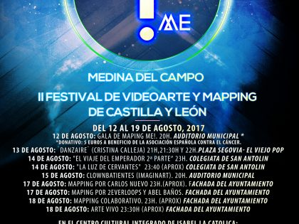 Cartel oficial MAPPING ME 2017