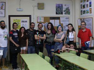 Escuela de Bellas Artes.
